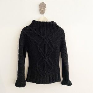 Urchin Thick Textured High Neck Sweater NWT